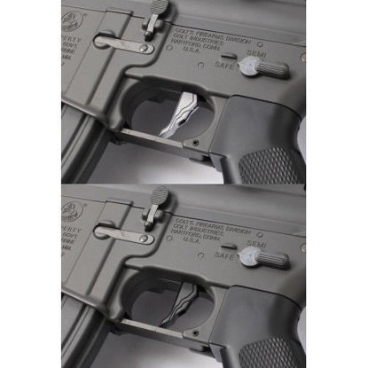 Prometheus Sigma Trigger for next gen recoil - Silver
