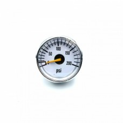 EPES 200 PSI Small pressure gauge - 1/8 NPT male thread