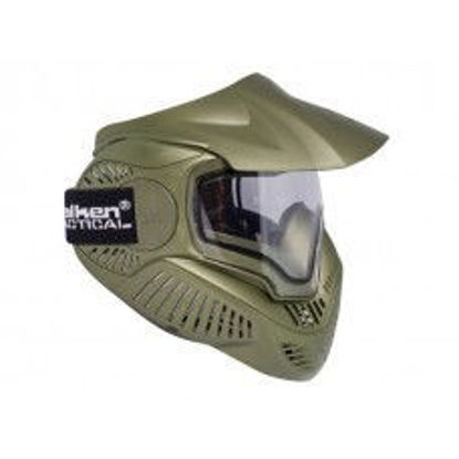 Valkan Annex MI-7 with thermal lens face mask Olive