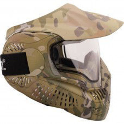 Valken MI-7 Goggle/Mask with Dual Pane Thermal Lens - VCAM