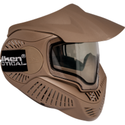 Valken MI-7 Goggle/Mask with Dual Pane Thermal Lens - Tan