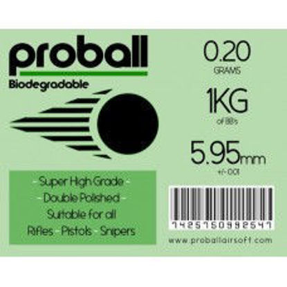 20 bags of Proball 0.2g biodegradable 1kg ( 5000 rounds)