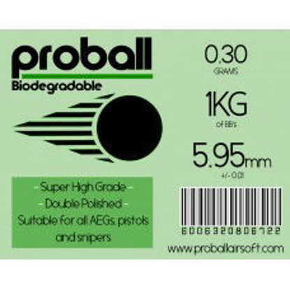 Proball 0.30g Biodegradable BBs 1kg Bag