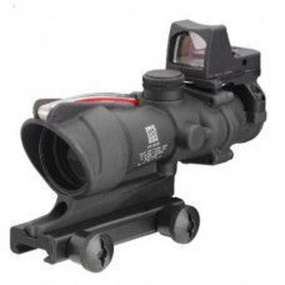 ACOG Style 4x32 Fibre illuminated with RMR sight