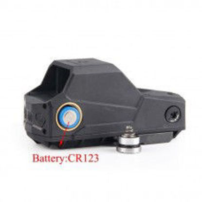 MH1 Style red dot reflex sight - Black