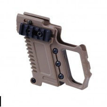 Pistol Carbine kit for G17/G18/G19 pistols - Tan