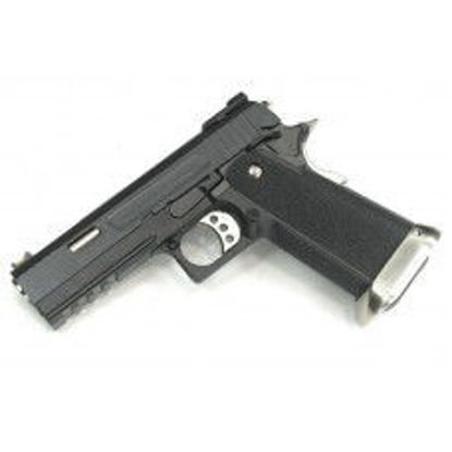 WE Hi-Capa Force 4.3 GBB Pistol 'Ruled' (Black)