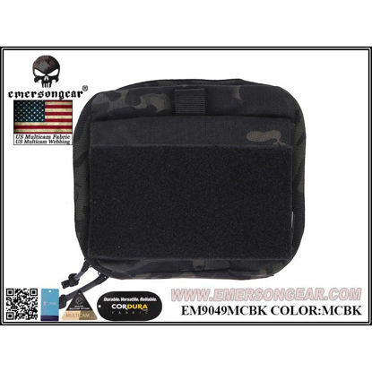 Emerson Gear EDC GP Pouch 20cmx19cm - Multicam Black
