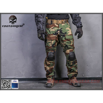 Emerson Gear G3 Combat Pants Woodland 36W