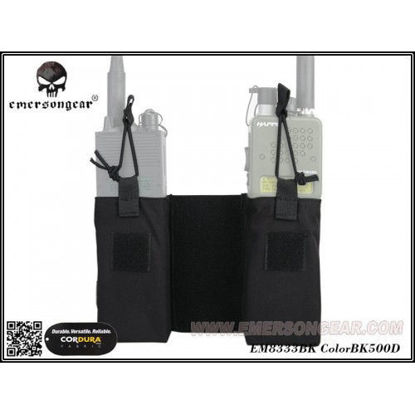 Emerson Gear JPC MBITR Radio Pouch - Black