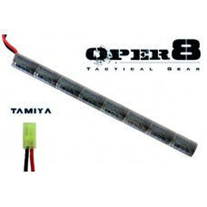 Oper8 9.6v 1600MAH Stick battery - Tamiya