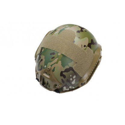 Oper8 Fast base helmet with accessories (Multicam)