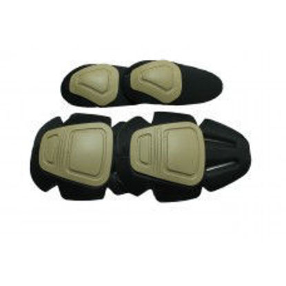 Oper8 Tactical Frog Knee and Elbow pads - Tan