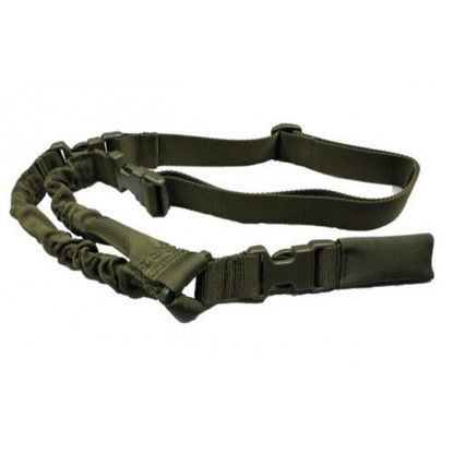 Oper8 Tactical heavy duty single point sling (OD)
