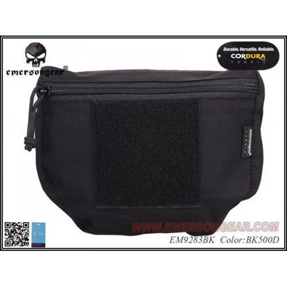 Emerson Gear Plate carrier front drop pouch - Black