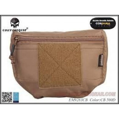 Emerson Gear Plate carrier front drop pouch - Coyote