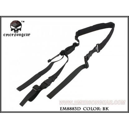 Emerson Gear Quick Adjust Padded 2 point sling - Black