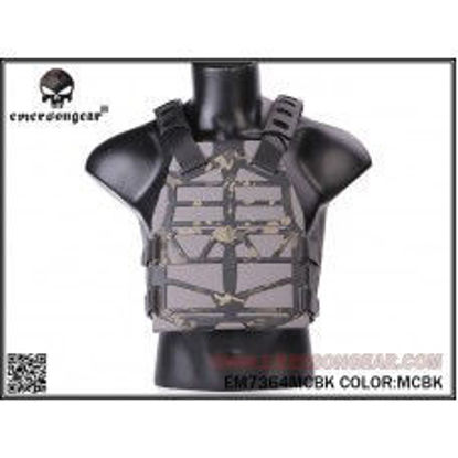 Emerson Gear Frame Plate carrier - Multicam Black