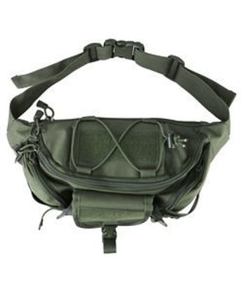 Tactical Waist Bag - Olive Green