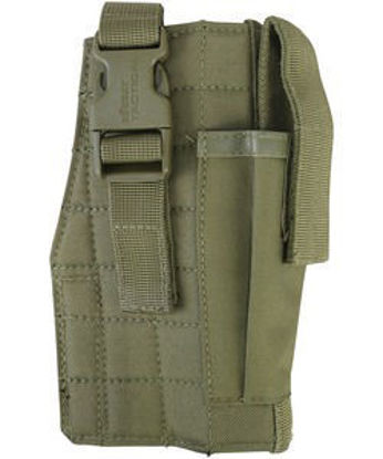 Molle Gun Holster with Mag Pouch - Coyote