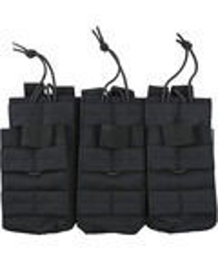 Triple Duo Mag Pouch - Black