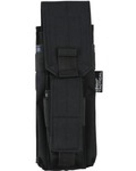 Single Mag Pouch with PISTOL Mag - Black