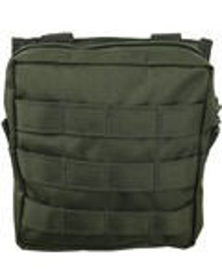 Medium MOLLE Utility Pouch - Olive Green