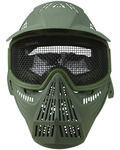 Full Face Mesh Mask - Olive Green