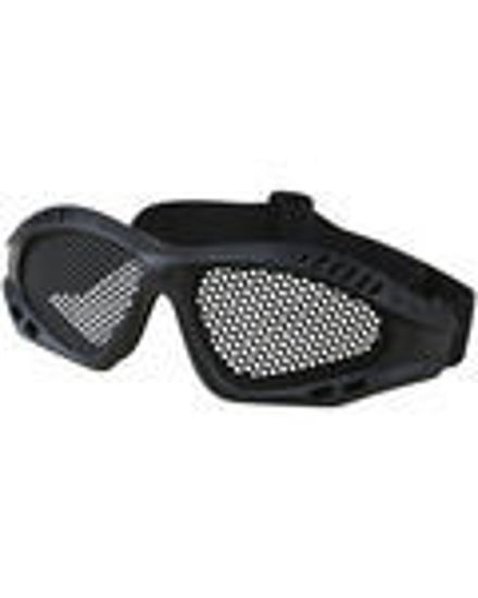 Tactical Mesh Glasses - Black