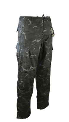 Assault Trousers - ACU Style - BTP Black