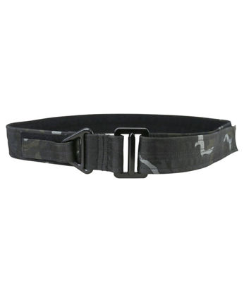 Tactical Rigger Belt - BTP Black British terrain pattern