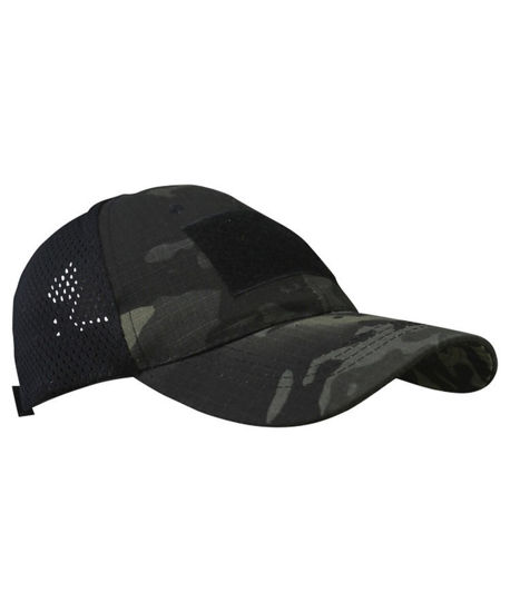 Spec-Ops Baseball Cap - Multi-Terrain Black