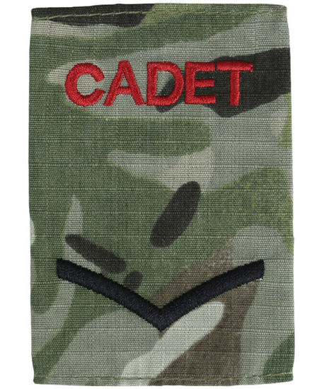 Cadet Rank Slides - Lance Corporal (Pair)