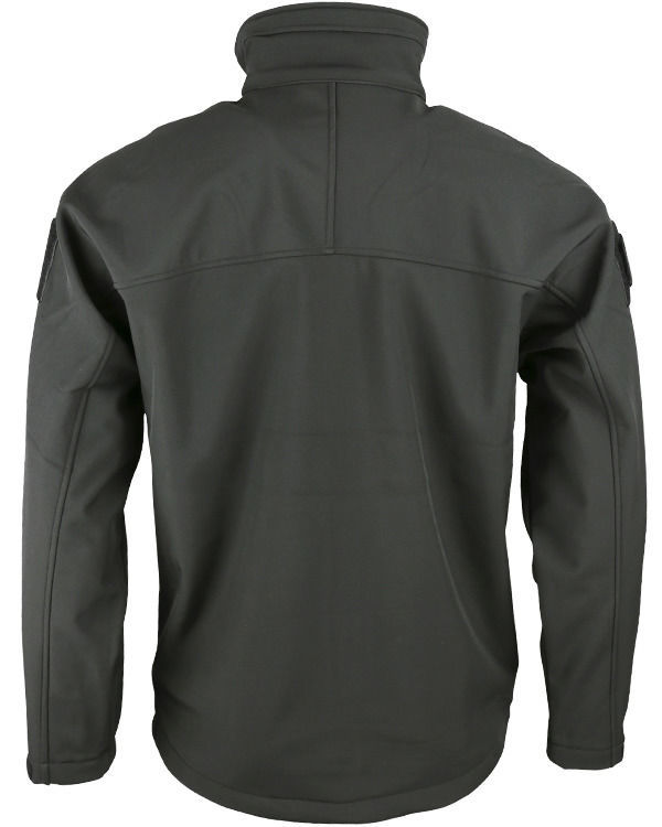 TROOPER - Tactical Soft Shell Jacket (Black)
