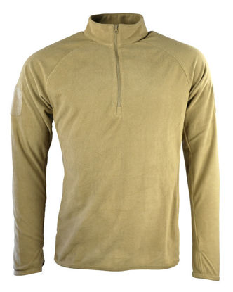 Alpha Mid-Layer Fleece - Coyote