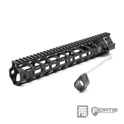 PTS Fortis REV™ II Free Float Rail System - 12 MLOK
