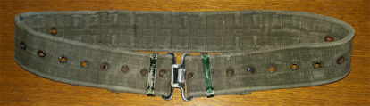 British Army Issue 58 Pattern Belt